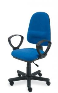 Krzesło biurowe PERFECT tapicerowane