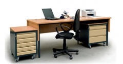 Desks working