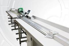 Equipment for cloth rolls cutting