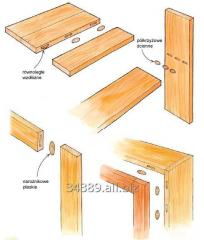 Lamella for furniture connecting
