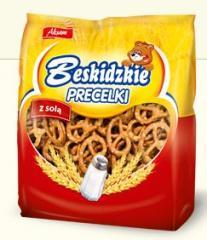 Salty pretzel