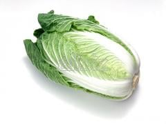 Headed chinese cabbage
