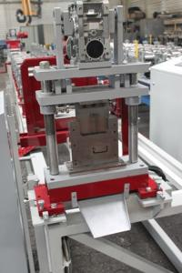 Metal sheet cold-rolled profiles lines