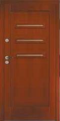 Drewniane drzwi wewnętrzne i zewnętrzne
