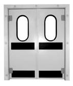 Drzwi wahadłowe dwuskrzydłowe
