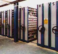 Racks automated of elevator (rotary) type