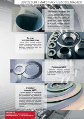 Gaskets and sealing materials