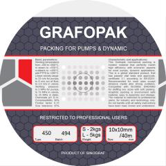 Graphite sealing materials