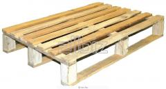 Paddings for pallets