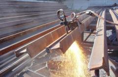 I-beam, low-alloy steel