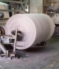 Basis for the production of toilet paper
