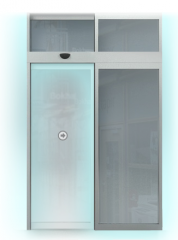 Drzwi przesuwne, w różnych kombinacjach i wzorach
