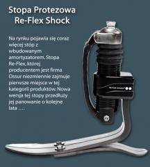 Stopa protezowa Re-Flex Shock.
