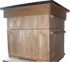 Ul Dadant drewniany - korpusowy ocieplany