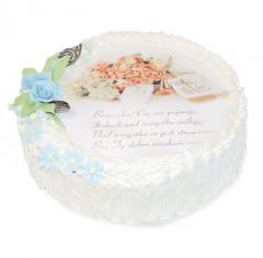 Tort z okazji Pierwszej Komunii Świętej -