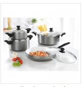 Ceramiczny zestaw do gotowania i smażenia w