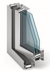 System okienno-drzwiowy z izolacją termiczną