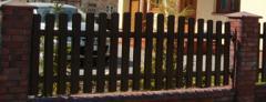 Ogrodzenie metalowe łukowe