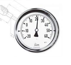 Termometr bimetaliczny przemysłowy TB