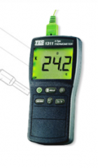 Przenośne mierniki temperatury TES-1311, TES-1312,