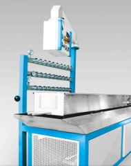 Automatic lines for thermoforming
