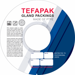 PTFE Gland packings and seals
