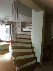 Safety net in the stairwells