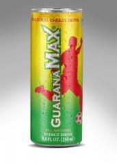 Napój energetyczny GuaranaMax Bio Organic Energy