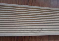 Deski akacjowe tarasowe ryflowane 3,2 cm x 12 cm x 150 cm/180 cm