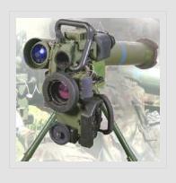 Granaten anti-tank reactief