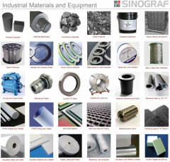 Materials and industrial equipment