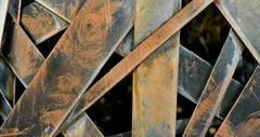 Zinc scrape and wastes