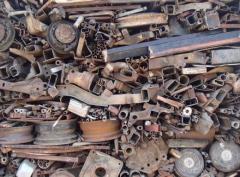 Standard-size steel scrap