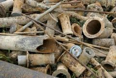 Scrap, irregular, cast-iron