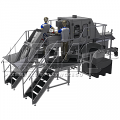 Equipment for processing of agricultural products