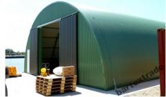 Sheds for storage of agricultural products