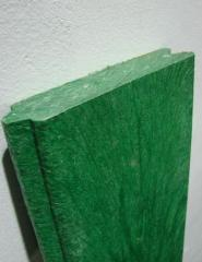 Articles made of plastic and polymers for building