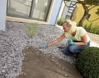Geotextile for lawns
