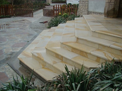 Articles made of sandstone