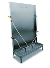 Equipment for washing of aprons