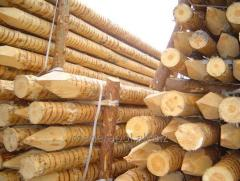 Logs cylindered