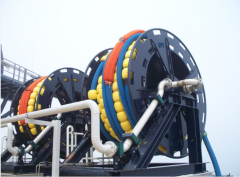 Zwijarka do węży hydraulicznych Loading hoses