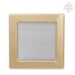 Grid galvanised gold