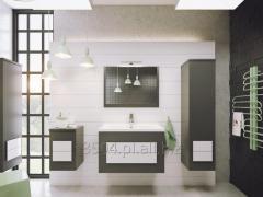 DEFRA Meble łazienkowe NEX - gra kontrastów