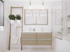 DEFRA Meble łazienkowe FONTE - bogate wnętrze,