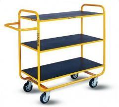 Wózki platformowe wielopółkowe