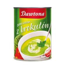 Zupa krem z brokułów w puszce