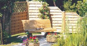 Flower beds for garden
