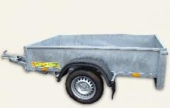 Uniaxial trailers