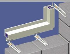 Regulowane mocowanie okien - System JB-D